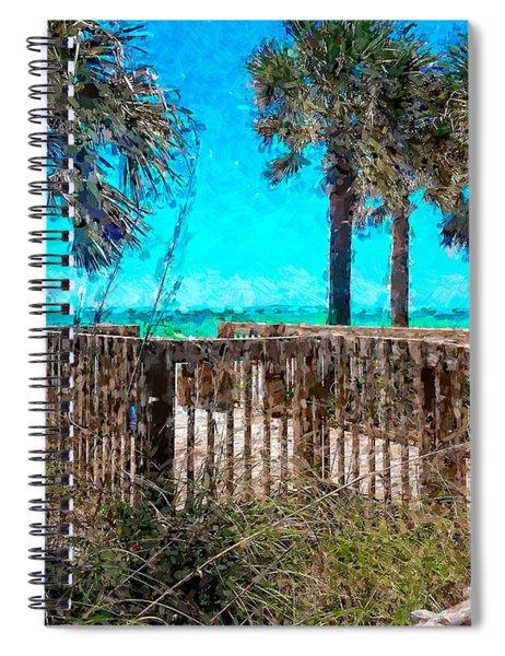 Anna Maria Boardwalk Access Spiral Notebook