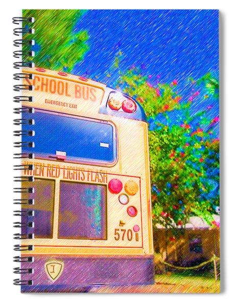 Anna Maria Elementary School Bus C131270 Spiral Notebook