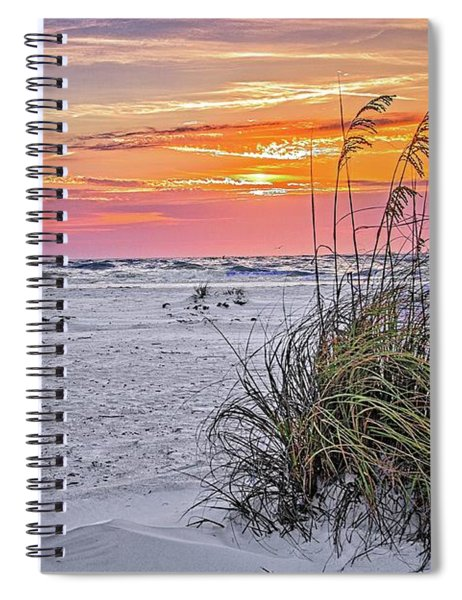 Anna Maria Island Sunset Spiral Notebook