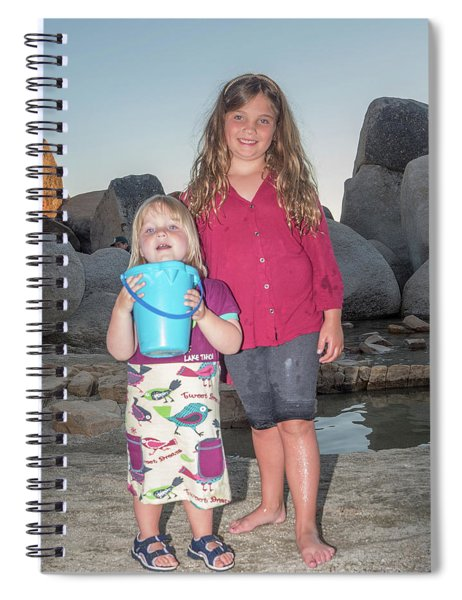 Annabelle And Piper Spiral Notebook