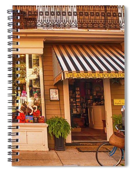 Annapolis Bookstore Spiral Notebook
