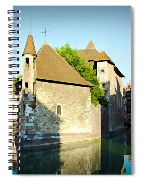 Annecy Canal - Annecy, France Spiral Notebook
