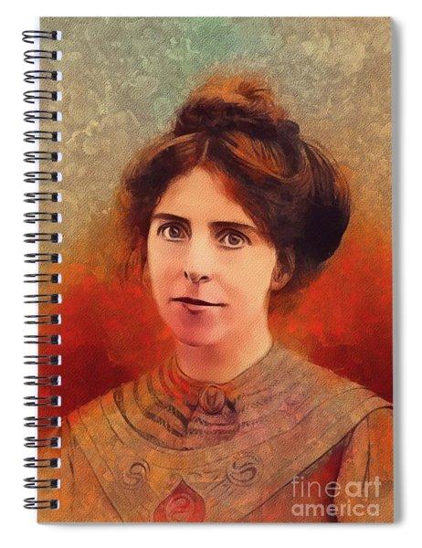 Annie Kenney, Suffragette Spiral Notebook