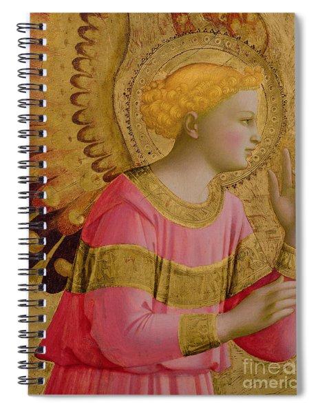 Annunciatory Angel Spiral Notebook