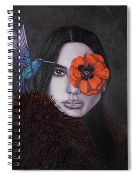 Anonymous 4 Spiral Notebook