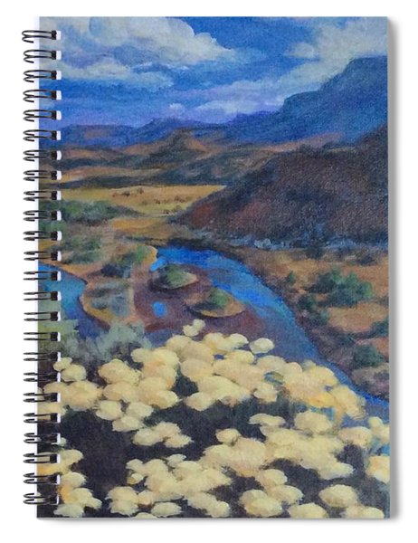 Another Day Above Rio Chama Spiral Notebook