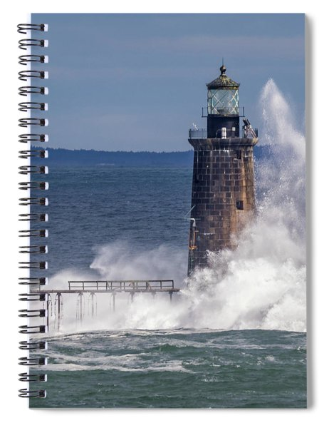 Another Day - Another Wave Spiral Notebook