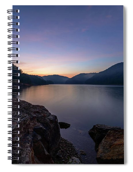 Another Day At Windy Bay Spiral Notebook