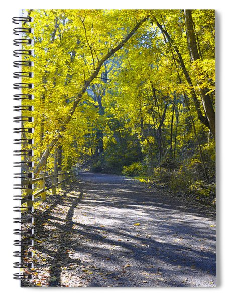 Another Fall In Philadelphia Spiral Notebook