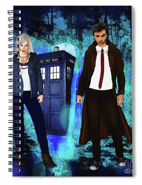 Another Unknown Adventure Spiral Notebook
