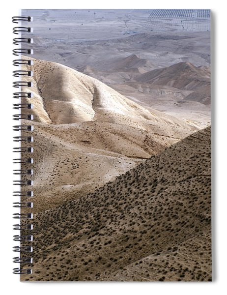 Another View From Masada Spiral Notebook