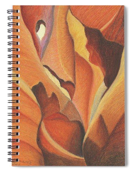 Antelope Canyon 4 - For Gloria Spiral Notebook