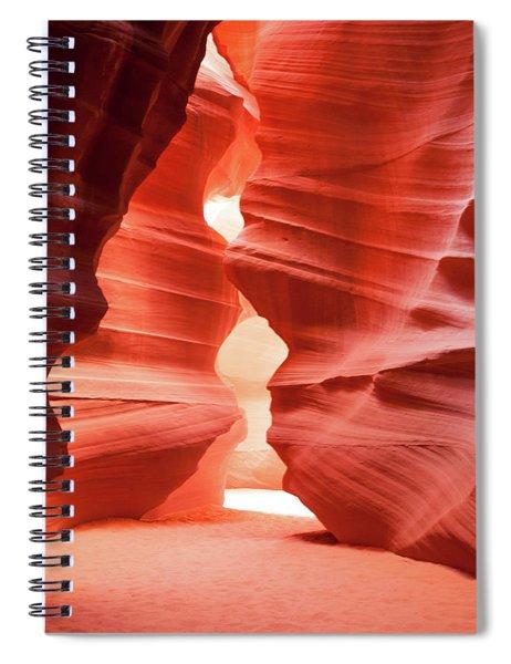Antelope Canyon Chamber Spiral Notebook