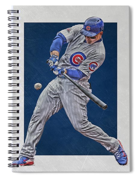 Anthony Rizzo Chicago Cubs Art 1 Spiral Notebook