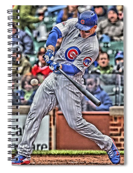 Anthony Rizzo Chicago Cubs Spiral Notebook