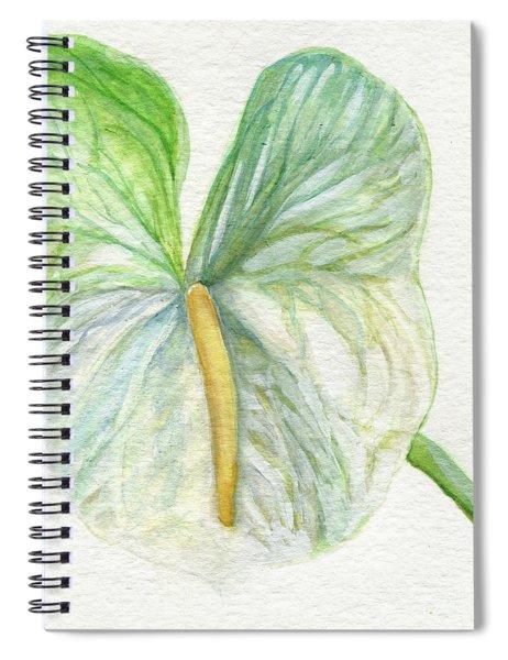 Anthurium Spiral Notebook