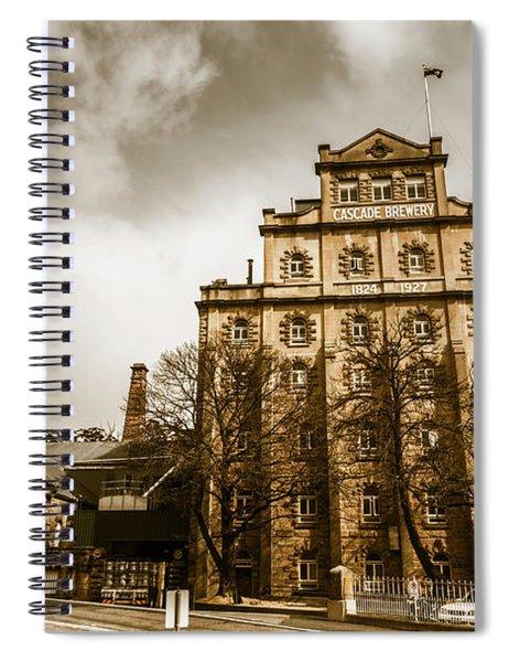 Antique Australia Architecture Spiral Notebook
