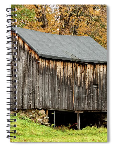 Antique Barn Spiral Notebook
