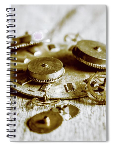 Antique Factory Settings Spiral Notebook