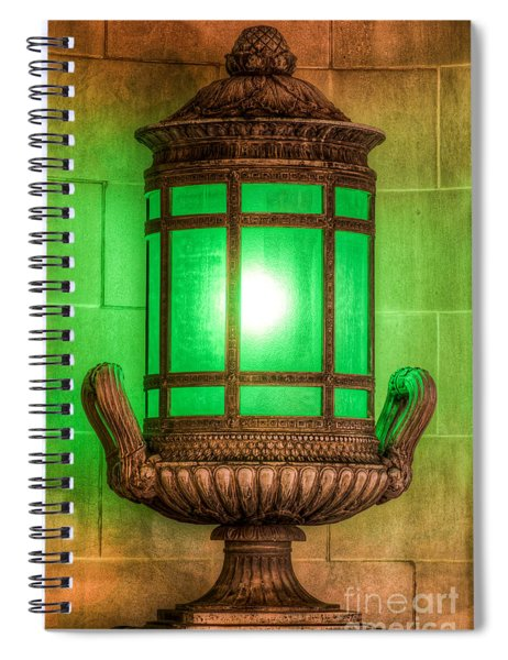 Antique Lantern Spiral Notebook