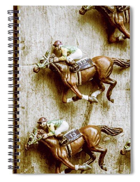 Antique Photo Finish Spiral Notebook
