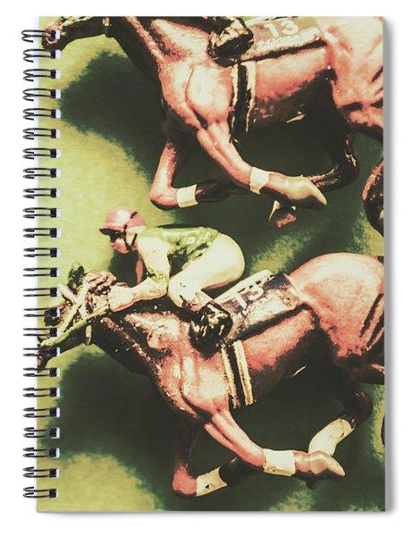 Antique Race Spiral Notebook