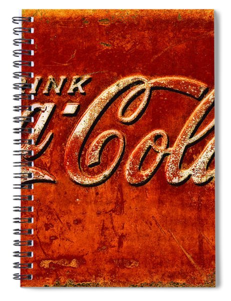 Antique Soda Cooler 3 Spiral Notebook