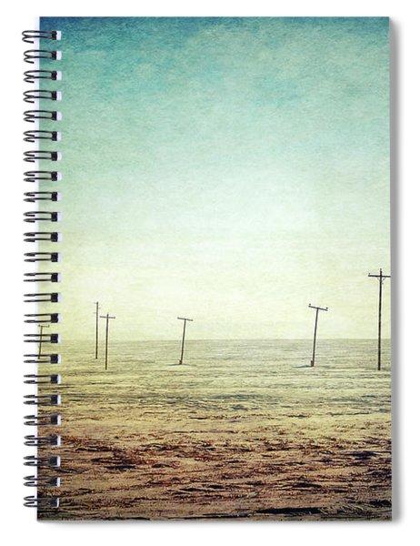 Antique Winter Spiral Notebook