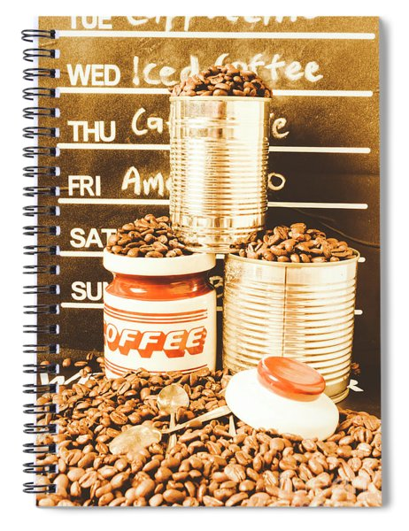 Antiques In The Brewhouse Spiral Notebook