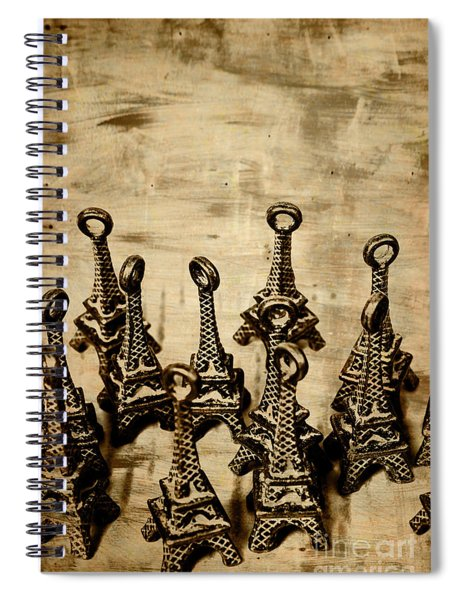 Antiques Of France Spiral Notebook