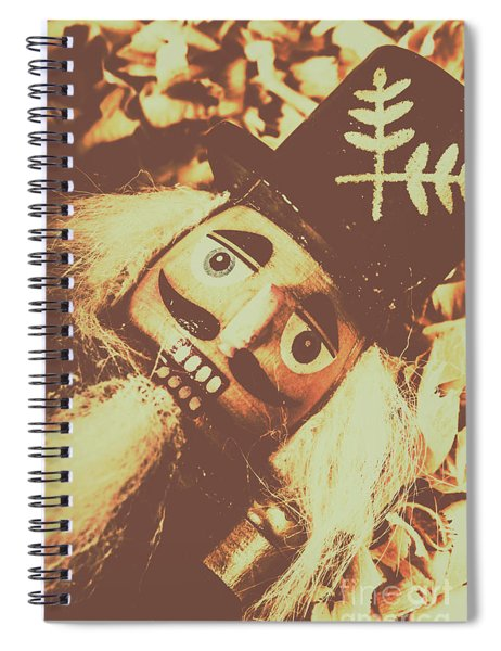 Antiques Of Play Spiral Notebook
