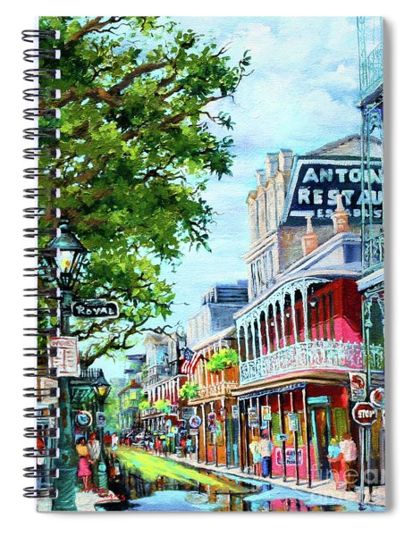Antoine's Spiral Notebook
