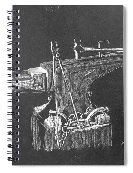 Anvil Spiral Notebook