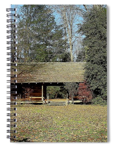 Anywhere Can Be A Good Place Spiral Notebook