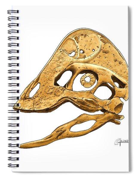 Anzu Wyliei Skull Spiral Notebook