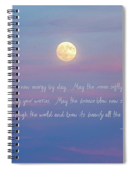Apache Blessing Harvest Moon 2016 Spiral Notebook