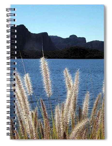 Apache Lake Superstition Mountains Spiral Notebook