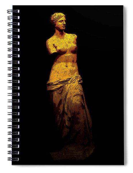 Aphrodite Of Milos Spiral Notebook