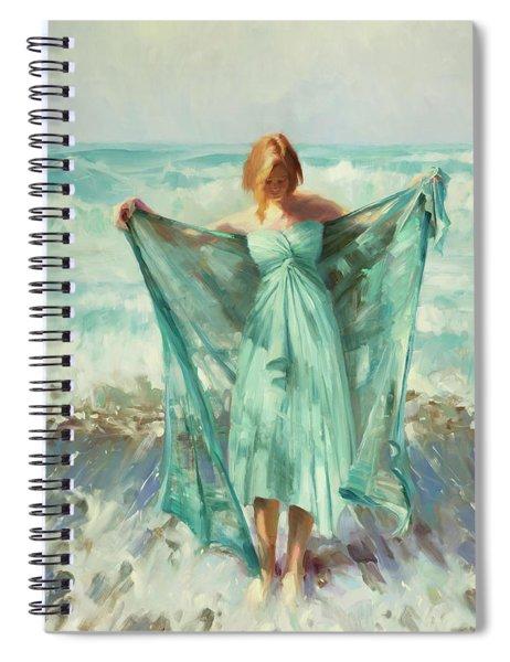 Aphrodite Spiral Notebook