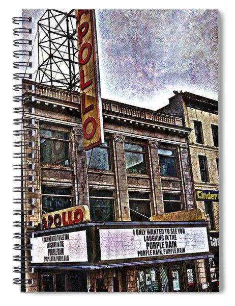 Apollo Theatre, Harlem Spiral Notebook