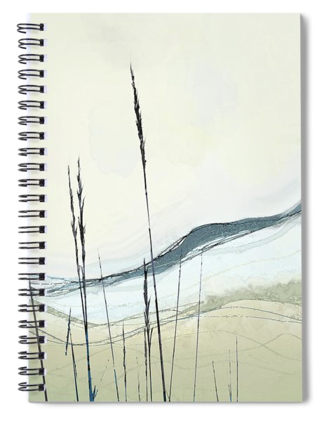 Spiral Notebook featuring the digital art Appalachian Spring by Gina Harrison