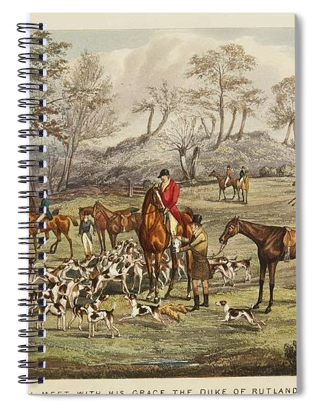 Apperley, Charles James The Life Of A Sportsman. By Nimrod. Spiral Notebook