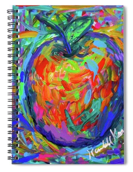 Apple Splash Spiral Notebook