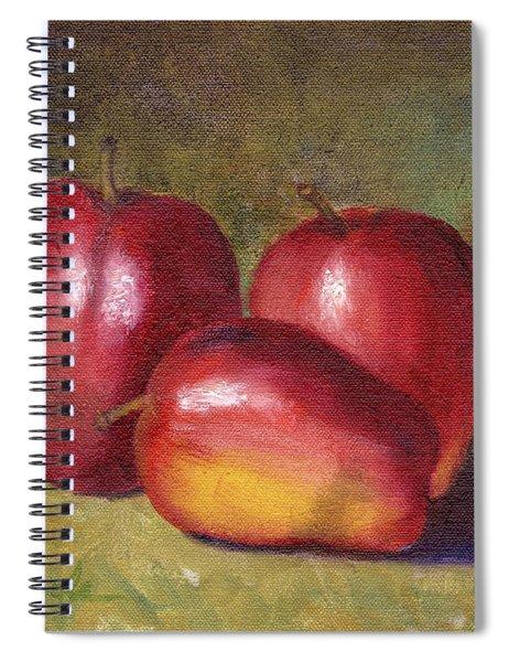 Apple Still Life Spiral Notebook