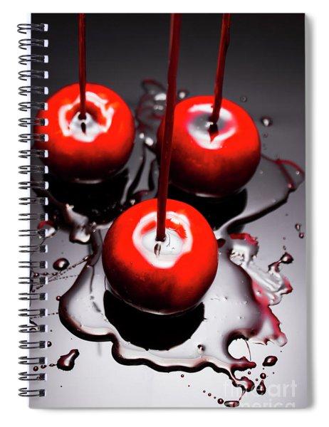 Apple Taffy Still Life. Halloween Treats Spiral Notebook