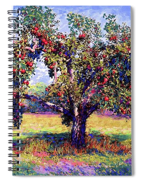 Apple Tree Orchard Spiral Notebook