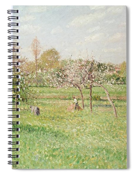 Apple Trees At Gragny Spiral Notebook