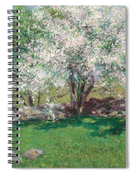 Apple Trees Spiral Notebook