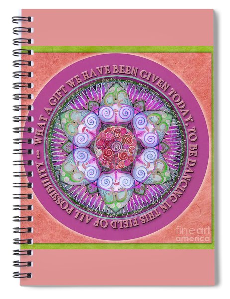Appreciation Mandala Prayer Spiral Notebook