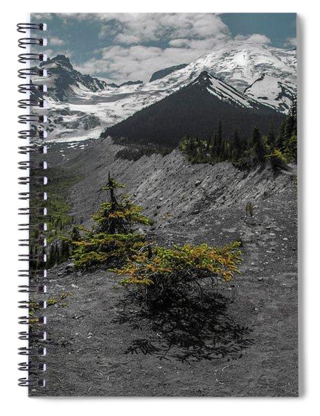 Approaching Rainer Spiral Notebook